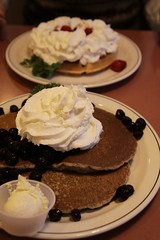 Blueberry pancakes (buckwheat)
