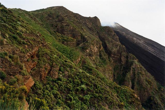 Stromboli crater