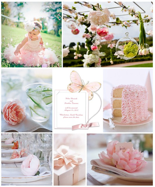 Pink and Green Peony Party