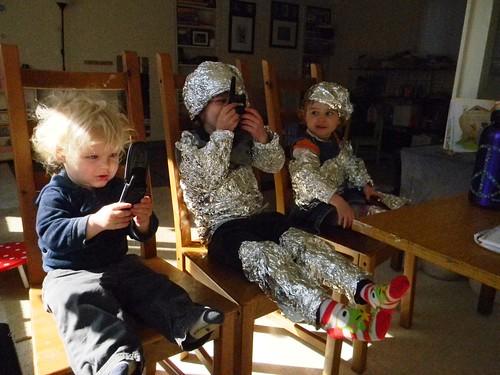 astronauts ready to blast off