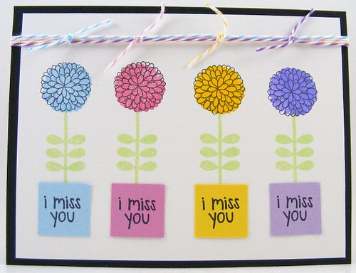 SOL March Miss You Mums Card