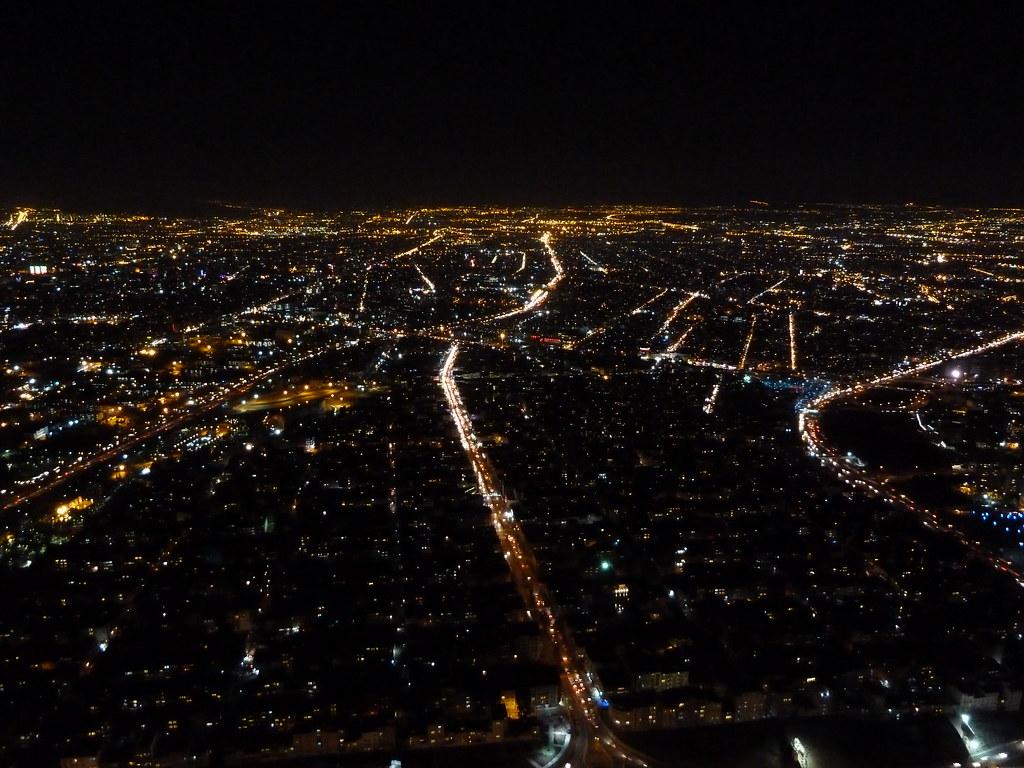 Teheran des de la torre Milad II, (Iran)