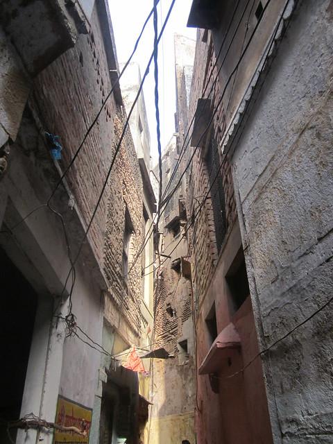 lanes in Varanasi