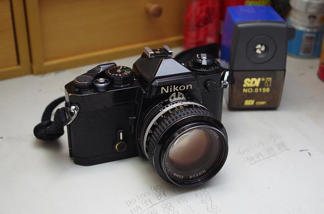 Nikon FE 底片機重見天日試拍