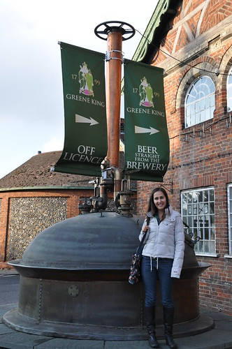 Greene King Brewery front