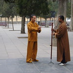 Wed, 09/03/2011 - 04:54 - Shaolin Shifu Kanishka and Shifu Shi Yan Fang in Shaolin Temple China Shaolin Kung Fu India