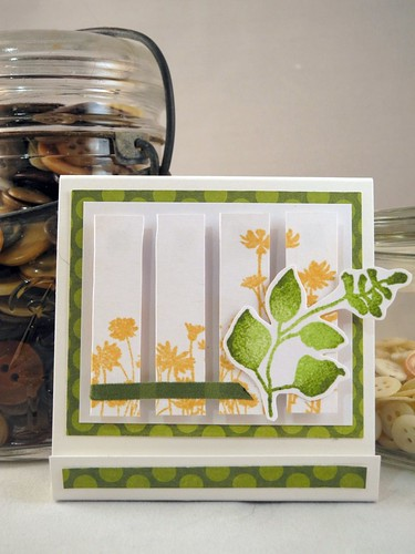 Beautiful Botanicals Post It Holder