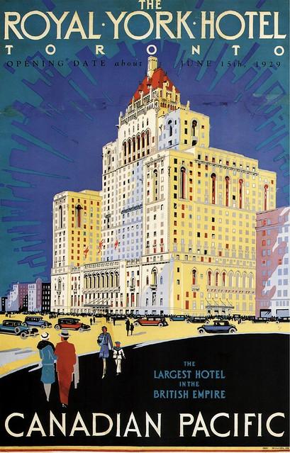 The Royal York Hotel, 1929