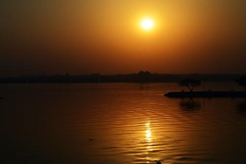 sunset landscape nikon kitlens hyderabad hussainsagar d5100 nikon1855mmf3556afsvrdx