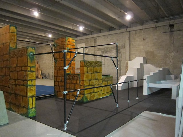Kee Klamp Parkour Structure at Miami Freerunning Academy