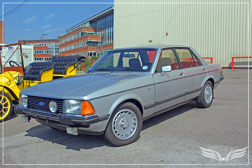The Establishing Shot: Ford Centenary Tour - Mk2 Ford Granada 2.8iS from The Sweeney at Elstree Studios by Craig Grobler