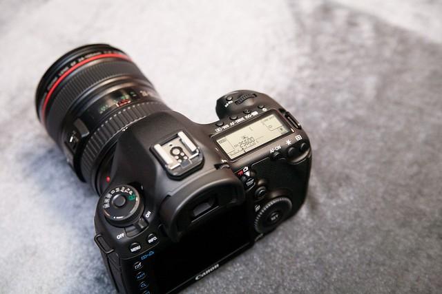 EOS 5D Mark III 機頂