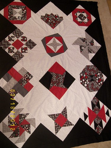 Sew Happy Quilt top finished