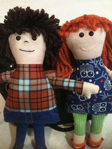 Sibling dolls