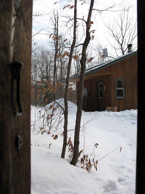 View from Lusk outhouse