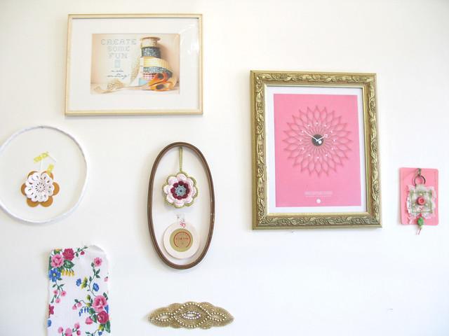 bits 'n' bobs wall | Emma Lamb