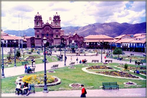 Town square Cuzco
