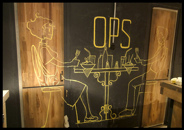 ops cafe / toilets
