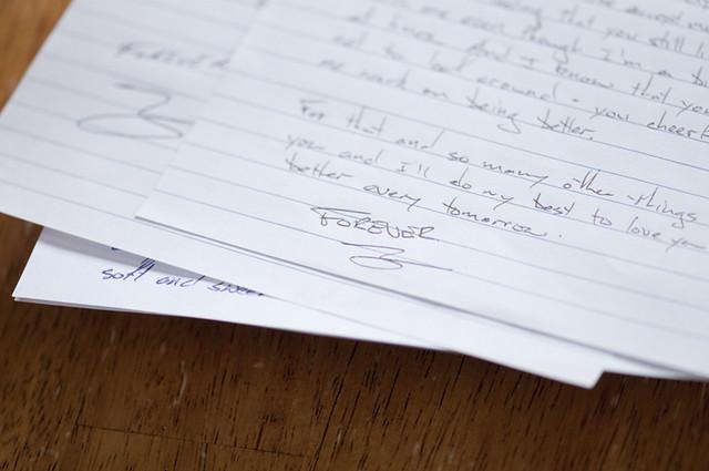DOF - Love Letters