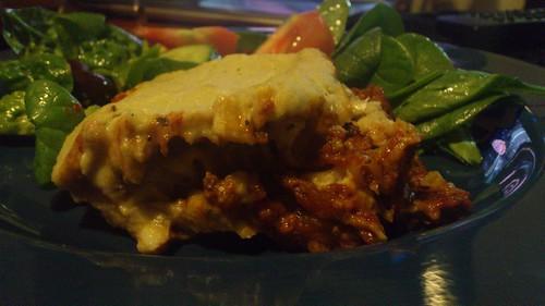 Gluten free dairy free lasagne