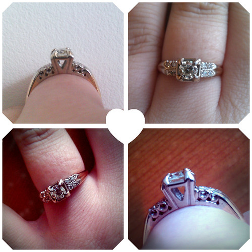 non-fuzzy shots of the ring. :) :) :)