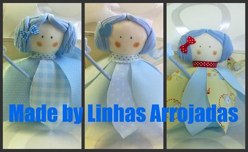 Mosaico das fadas dos meninos by ♥Linhas Arrojadas Atelier de costura♥Sonyaxana