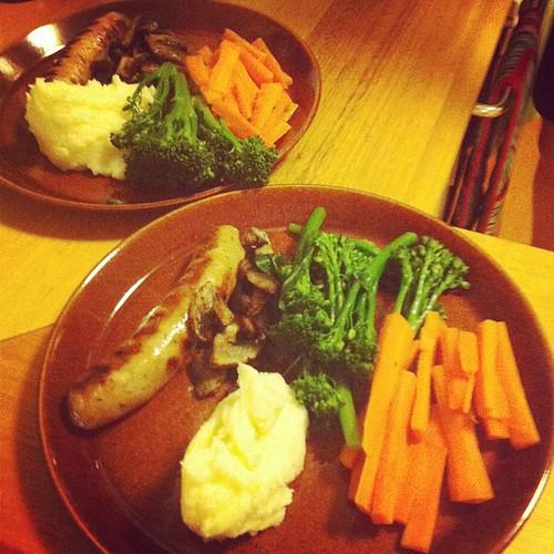Meat & four veg!