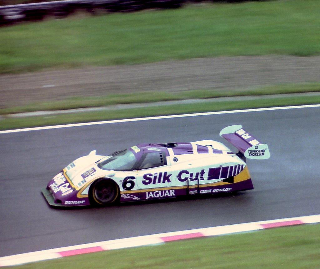 Jaguar XJR-8 - Martin Brundle, Johnny Dumfries & Raul Boes ...
