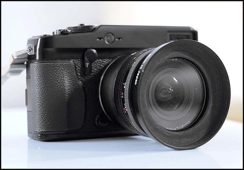 Fuji X-Pro 1 Voigtlander 20mm f/3.5 nikon f mount + KIPON NIK>FK Adapter