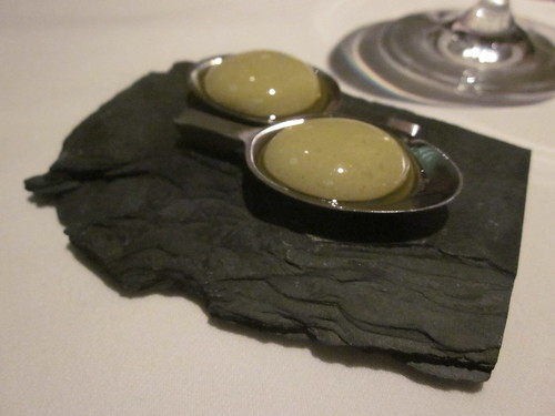 Next/El Bulli - Chicago - February 2012 - Spherical Olives
