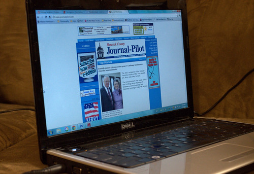 Read Your Favorite Newspaper Online (112/365)