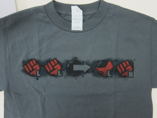 Akuma's Heavenly Combo T-Shirt - Front View (Close Up)