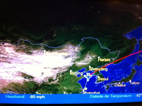 Didn't realize US airlines are allowed to fly over North-Korea