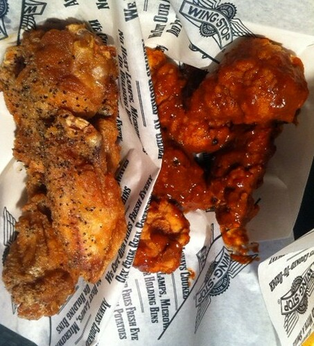 wingstop by Junk Food Critic
