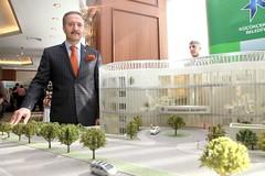 Başkan Aziz YENİAY Yeni Belediye Binası