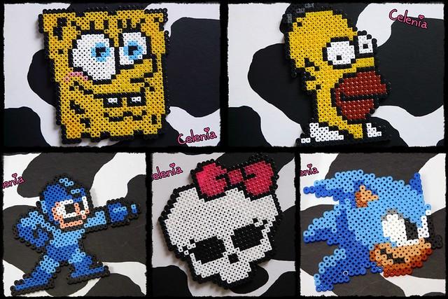 Figuras Hama Beads De Monster High