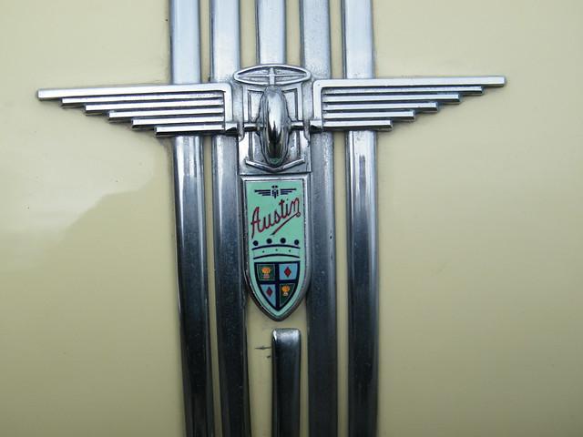 1950 Austin A90 Atlantic Convertible - Bonent badge