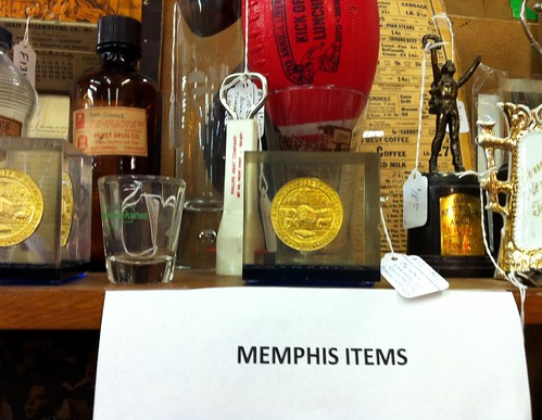 Memphis Items, Antique Warehouse Mall, Memphis, Tenn.