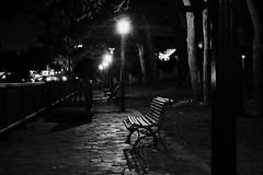 oscuridad en la noche