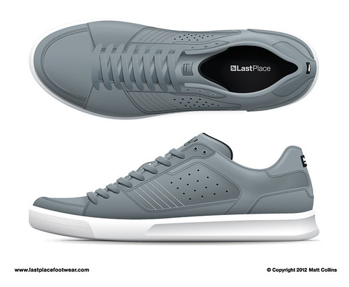 Minute Man Low - Grey Black