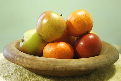 Fruit in bowl by Helen in Wales