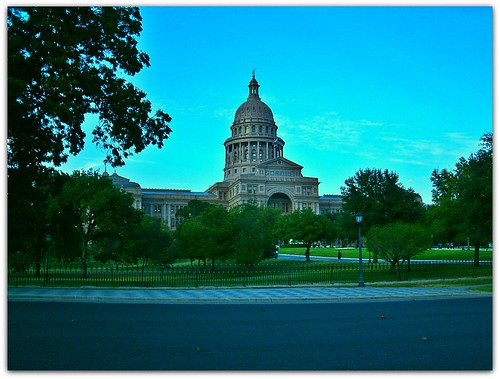 THE TEXAS CAPITOL...