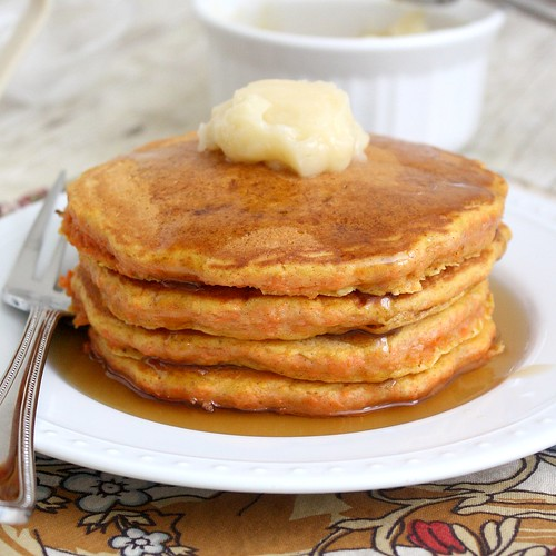 Carrot Cake Pancakes | Tracey's Culinary Adventures