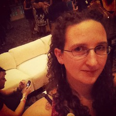 Out of my element. Cocktails, music, dancing......#blissdom #loraxbliss