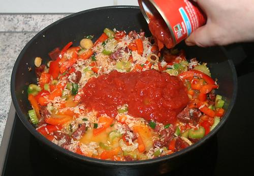 31 - Tomaten hinzufügen / Add tomatoes