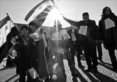 syrian demonstrations...