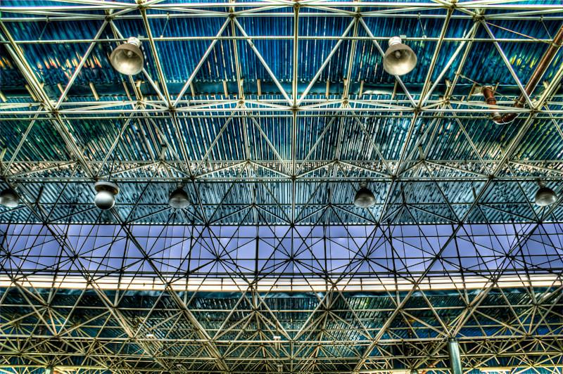 Tietê's Ceiling | Tietê Bus Terminal, São Paulo, Brazil | Urban Photography, Fotografía Urbana, Fotografia Urbana, HDR Photography