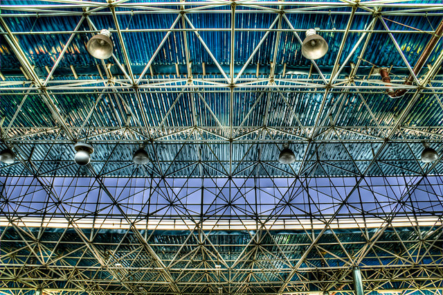SoulB | Visual | Tietê's Ceiling | Photo shot at Tietê Bus Terminal, Terminal Rodoviária do Tietê, São Paulo, Brazil | Urban Photography, HDR Photography