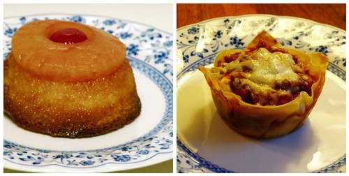 Pineapple Upside Down Cake/Lasagna Cupcakes