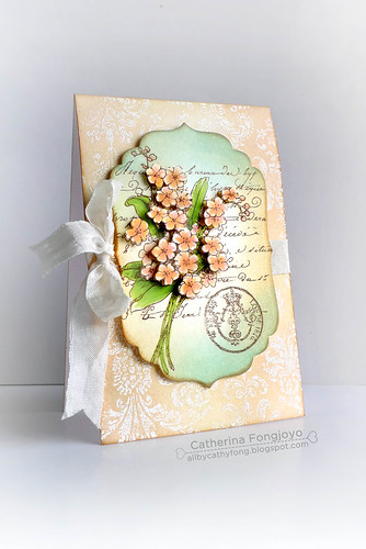 All occasion floral card